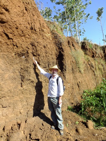 Soil profile Embobut River