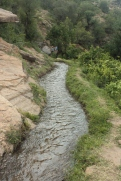 Traditional irrigation channel, Tot